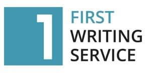 First Writing Service Logo